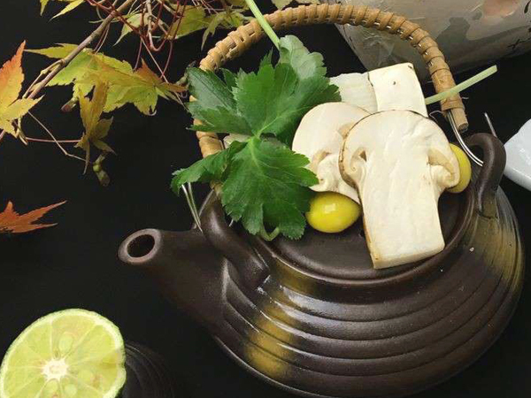 ◆松茸の土瓶蒸し(イメージ)